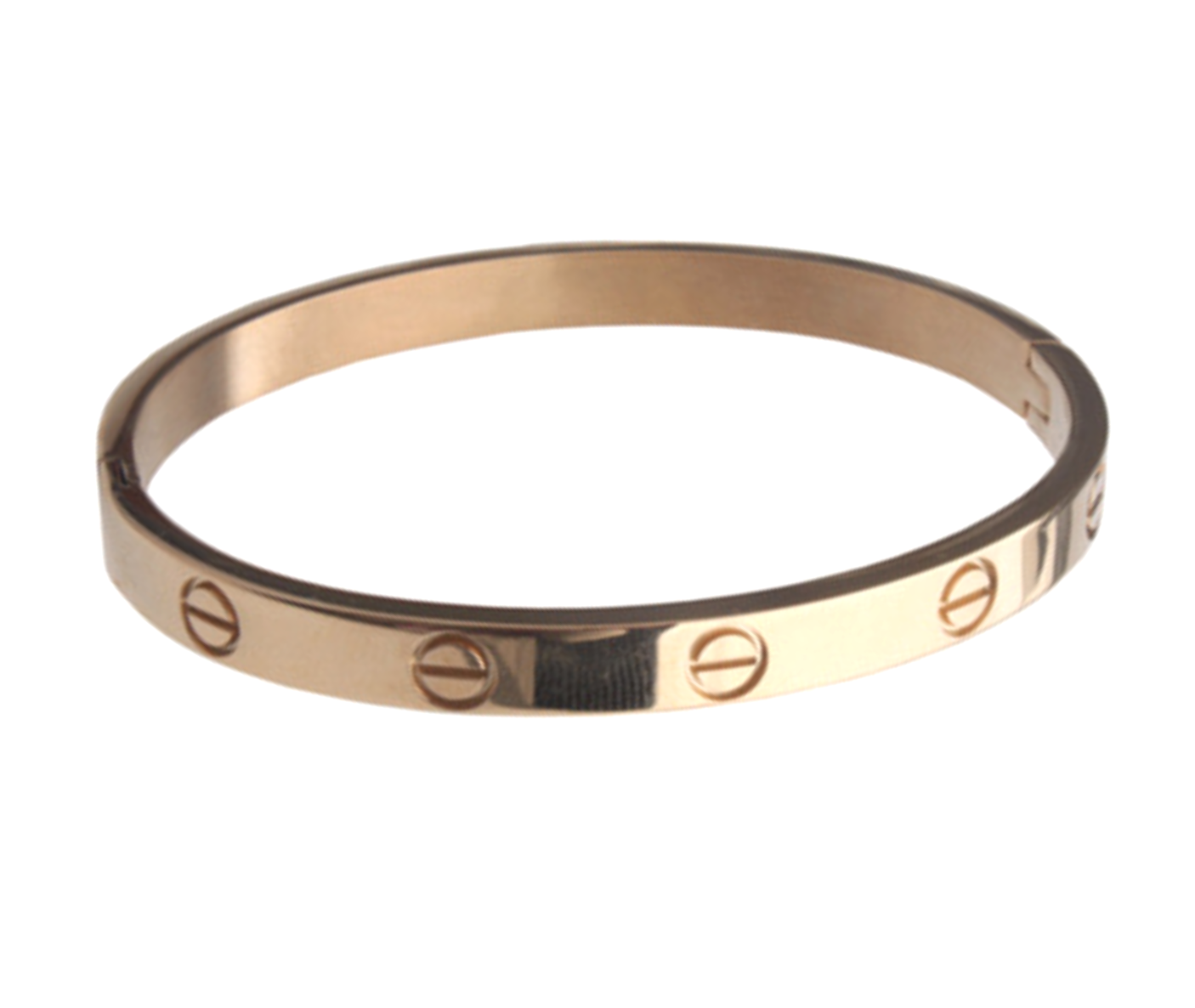 6f218f93888d3 I have this Cartier LOVE bracelet knock off, and I love it! (Comes ...