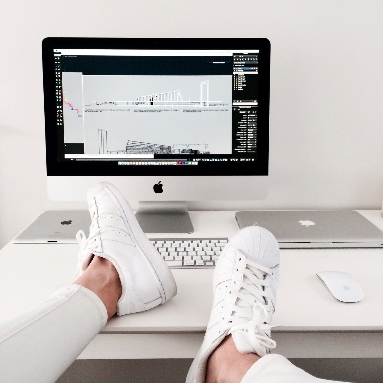 Be... - v-sp:   Apple + architecture + Adidas ⬜️...