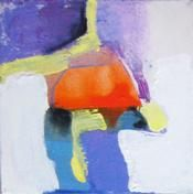 LITTLE ONES Little Ones _ 01 - original acrylic abstract painting by Claire Desjardins