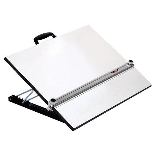 Pro Draft Aluminum Adjustable Angle Parallel Edge Drafting ...Straight Edge Desktop