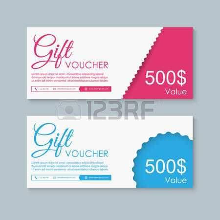 Voucher, Gift certificate, Coupon template Cards Pinterest - coupon sample template