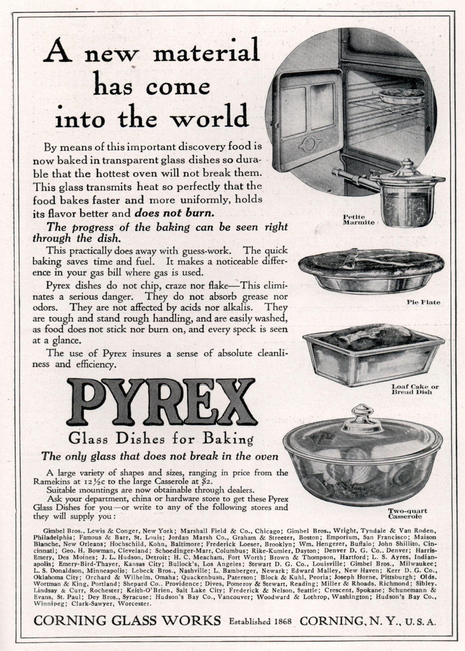 pyrex ad