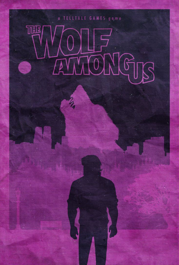 The Wolf Among Us Poster By Disgorgeapocalypse On Deviantart The Wolf Among Us Big Bad Wolf Wolf