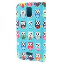 Huawei Y360 pöllöt puhelinlompakko.