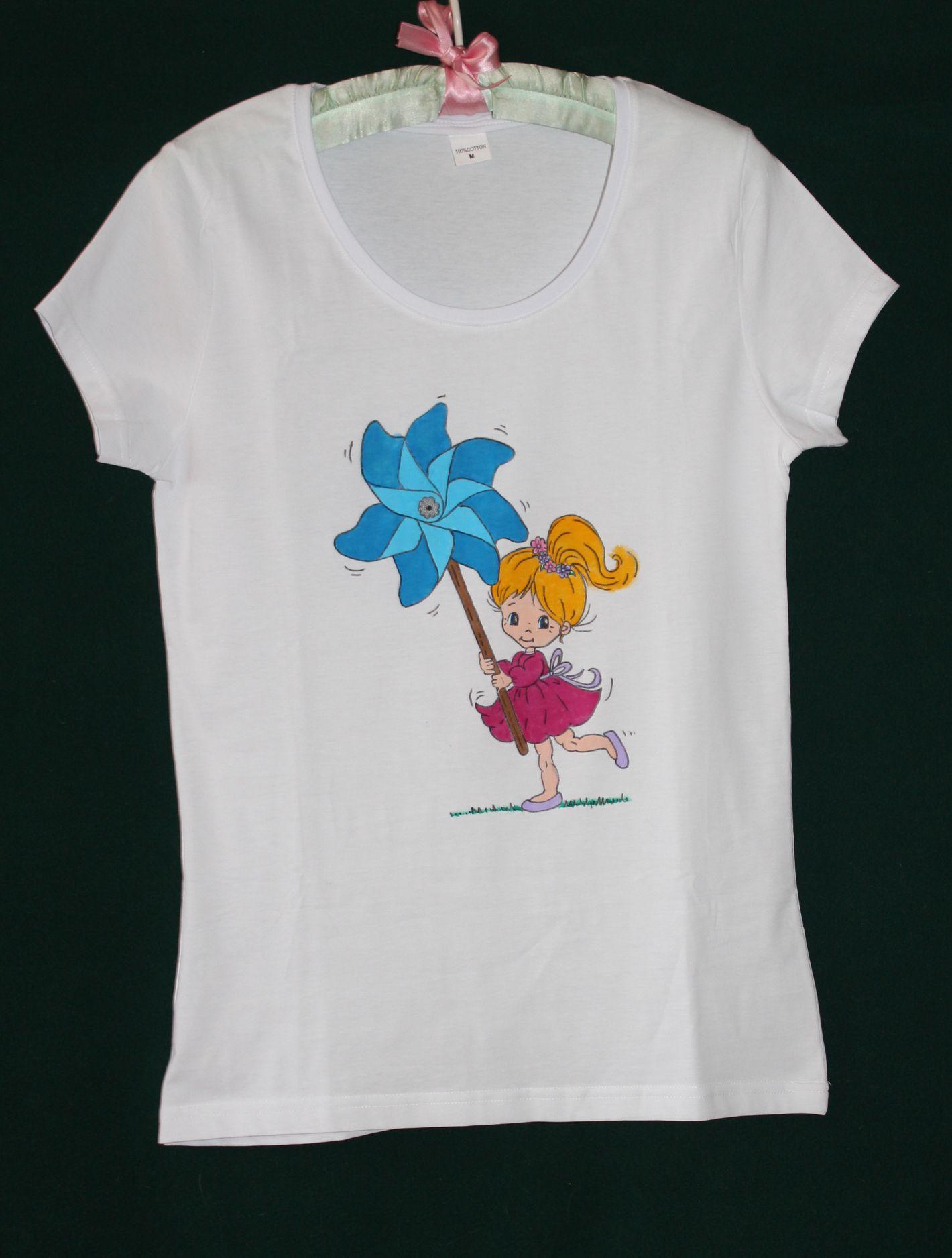 T shirt handmade design - Girl Thelollipopdesign Handmade Design Accessories Customdesign