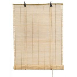 store enrouleur bambou bois naturel 60 x 180 cm coloc 39 at. Black Bedroom Furniture Sets. Home Design Ideas