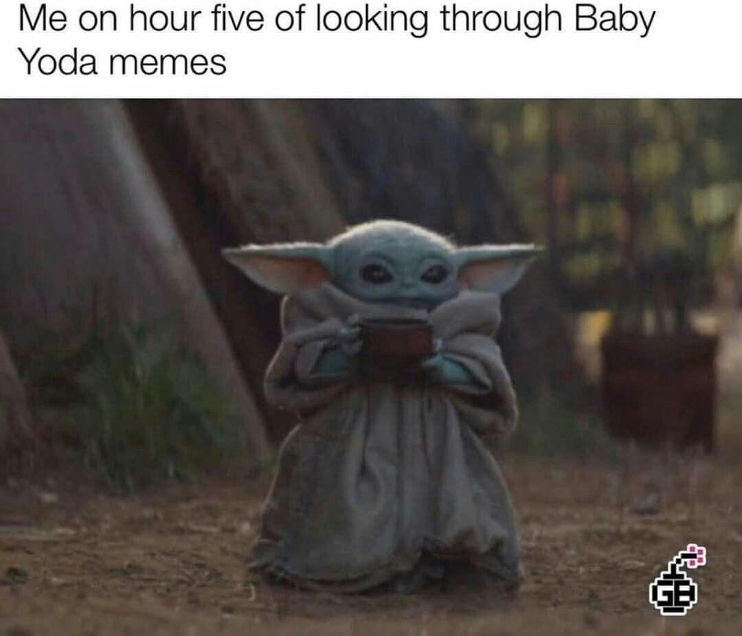 Pin By Jennifer Alaina On Baby Yoda Star Wars Memes Memes Yoda Meme