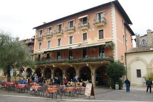 Albergo Gardesana, Torre del Benaco, Gardameer, Italië (Trudi)