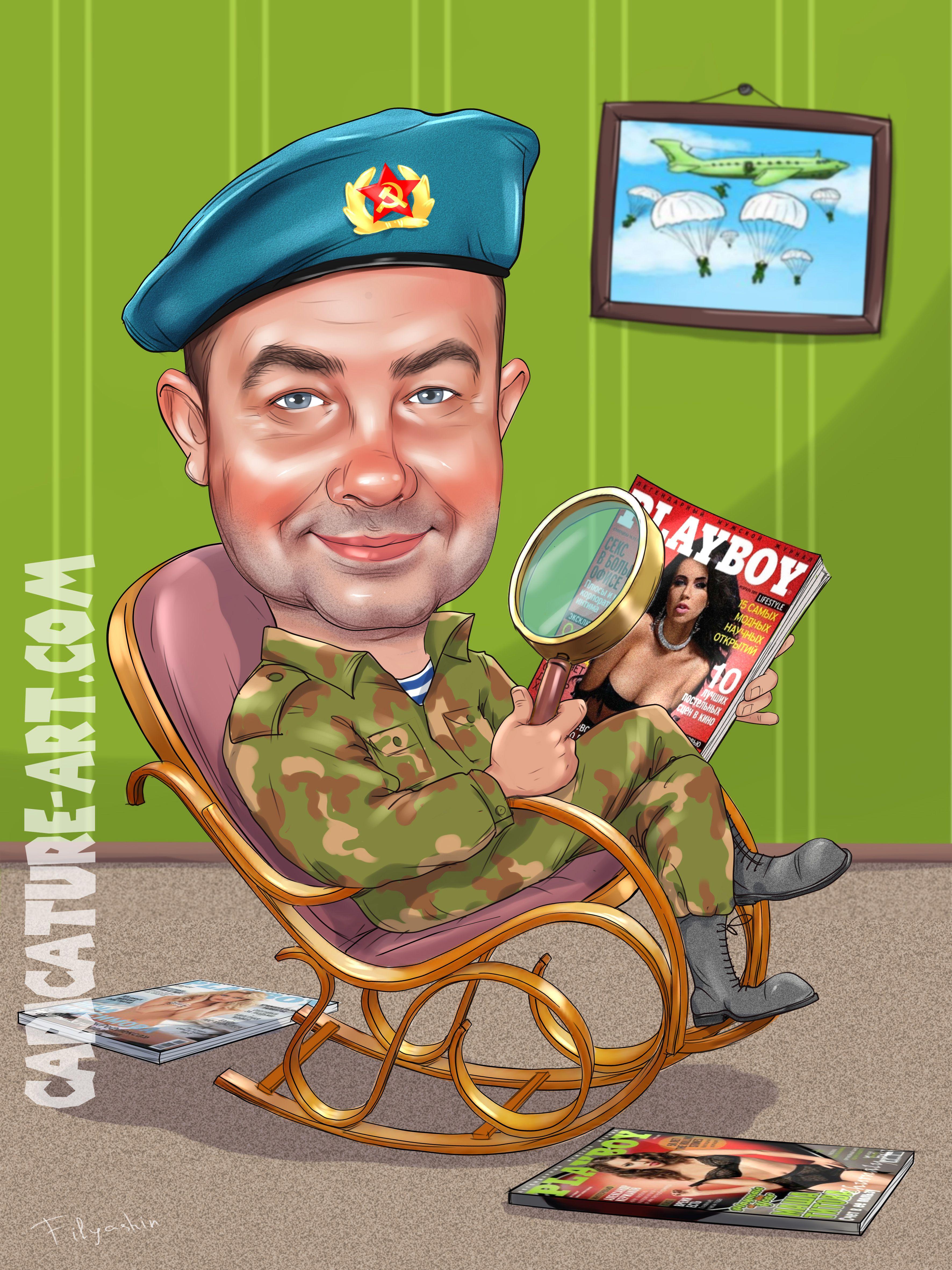 Карикатуры Davi Sales