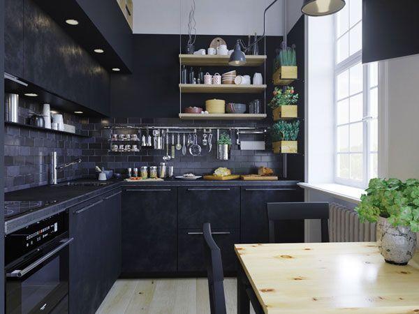Open Kitchen Shelving For Sleek Kitchen Design Ideas Kitchen Design Small Kitchen Room Design Open Kitchen Shelves