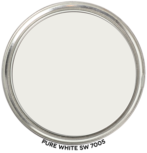 Paint Blob Pure White 7005 by Sherwin-Williams