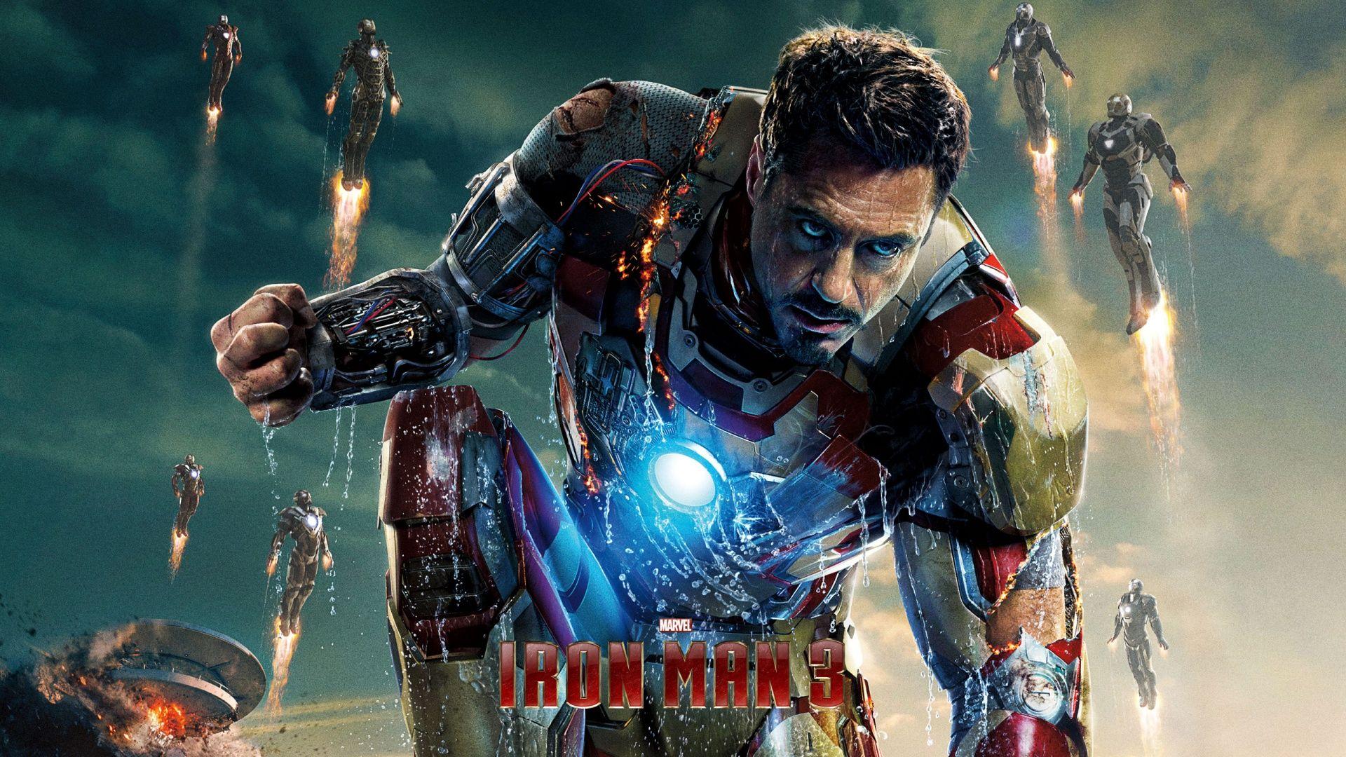 Iron Man 3 Movie Poster 1080p HD Wallpaper Movies
