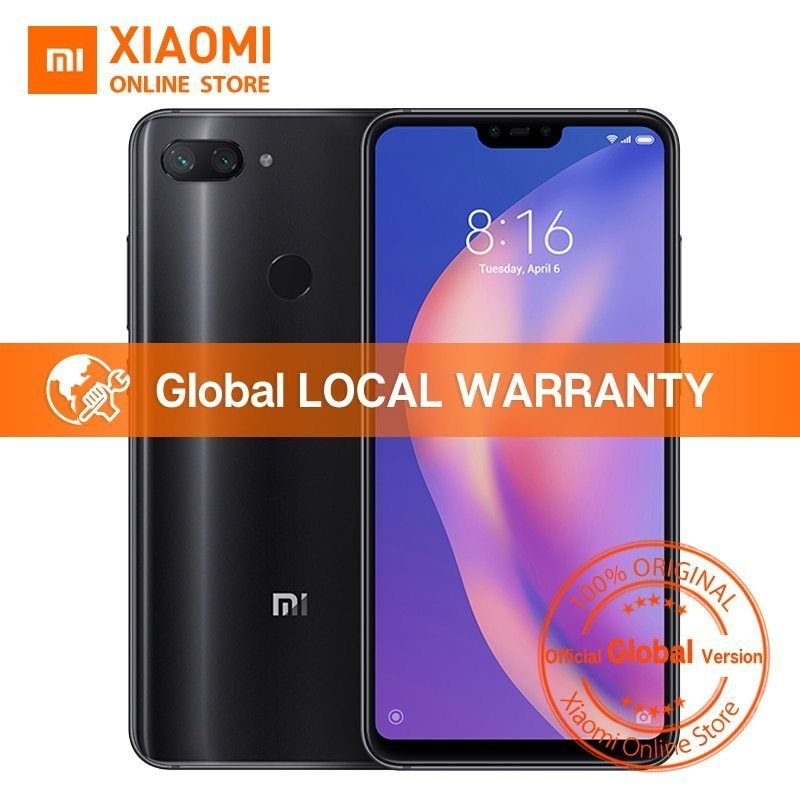 Calendario Xiaomi.Xiaomi Mi 8 Lite 4gb 64gb 6 26 19 9 Notch Full Screen