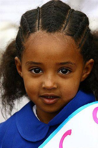 Eritrea Pupil In Asmara Ethiopian Hair Hair Styles