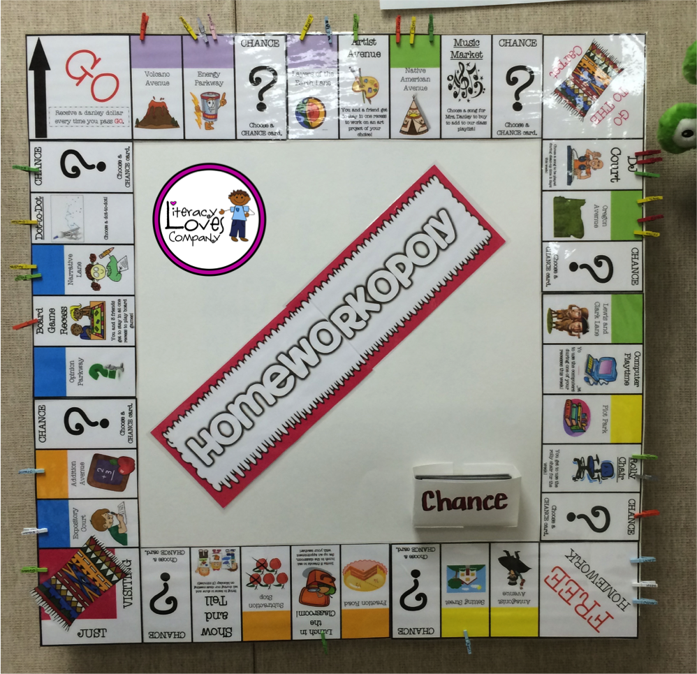 Classroom Decoration Games Free : Motivate your students to turn in their homework with