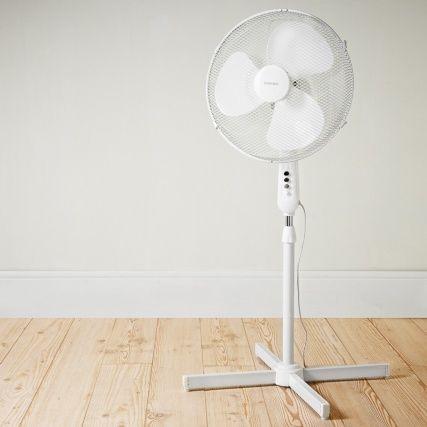 Goodmans Oscillating 16 Pedestal Fan Heating Cooling Pedestal Fan Desk Fan Pedestal