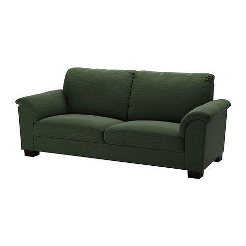 Ikea Tidafors Sofa Hensta Green The High Back Provides Good Support