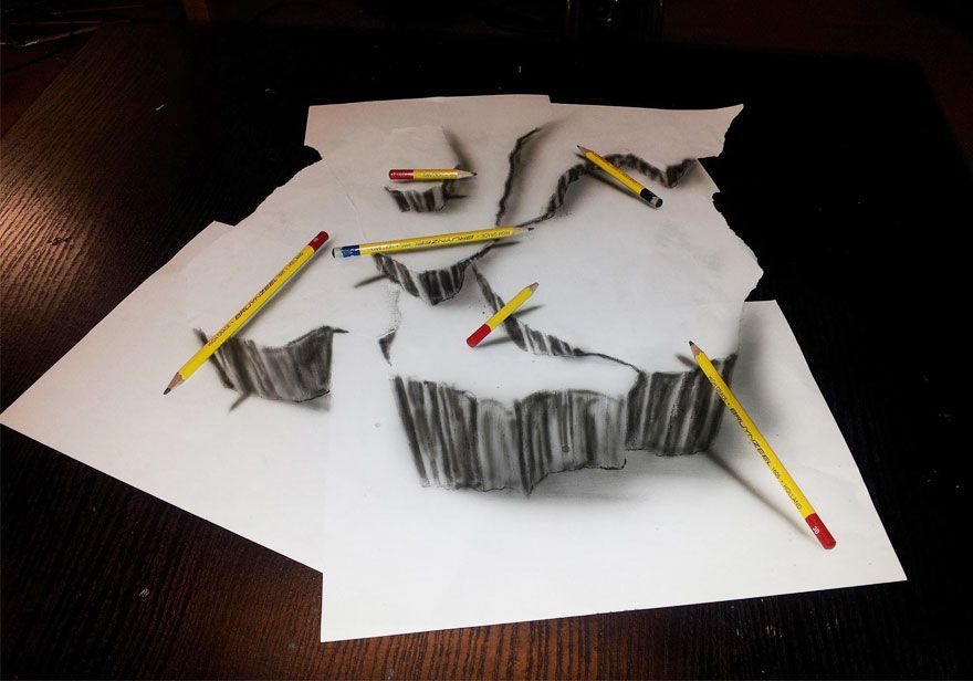If You Thought You Are Good At Drawing With A Pencil Take A Look - 29 incredible examples 3d pencil drawings
