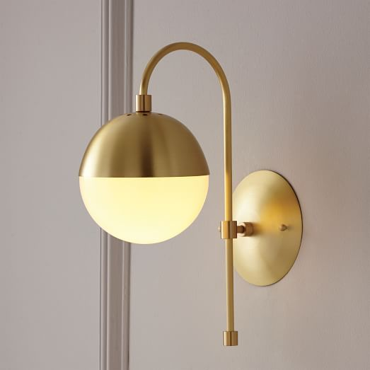 Rejuvenation Cedar Moss Sconce Battery Operated Wall Sconce Globe Sconce Cedar And Moss