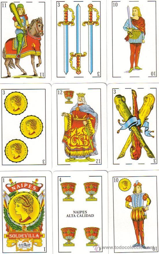 26 Ideas De Cartas Españolas Cartas Españolas Cartas Baraja Española Baraja Española