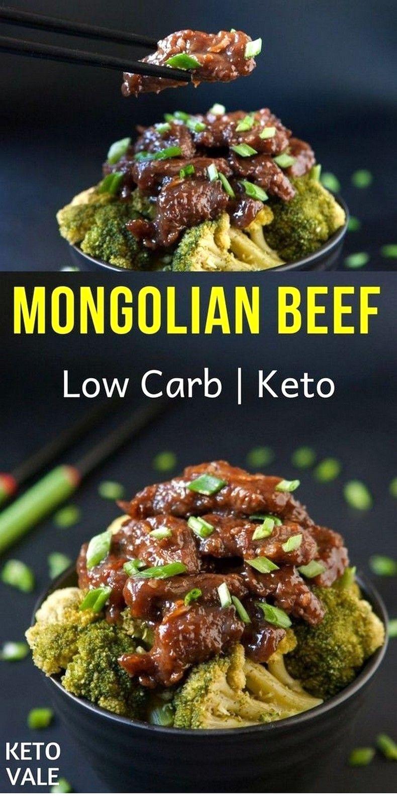 Keto Mongolian Beef | Keto Diet Meal Plan