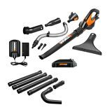 WG545.1 WORX 20V Max Lithium Blower/Sweeper FREE Gutter Kit Included! #LavaHot http://www.lavahotdeals.com/us/cheap/wg545-1-worx-20v-max-lithium-blower-sweeper/127634