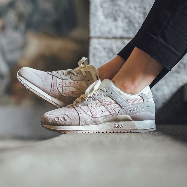 asics gel lyte iii 39 whisper pink pack 39 sneakers asics gel lyte iii pinterest pink. Black Bedroom Furniture Sets. Home Design Ideas