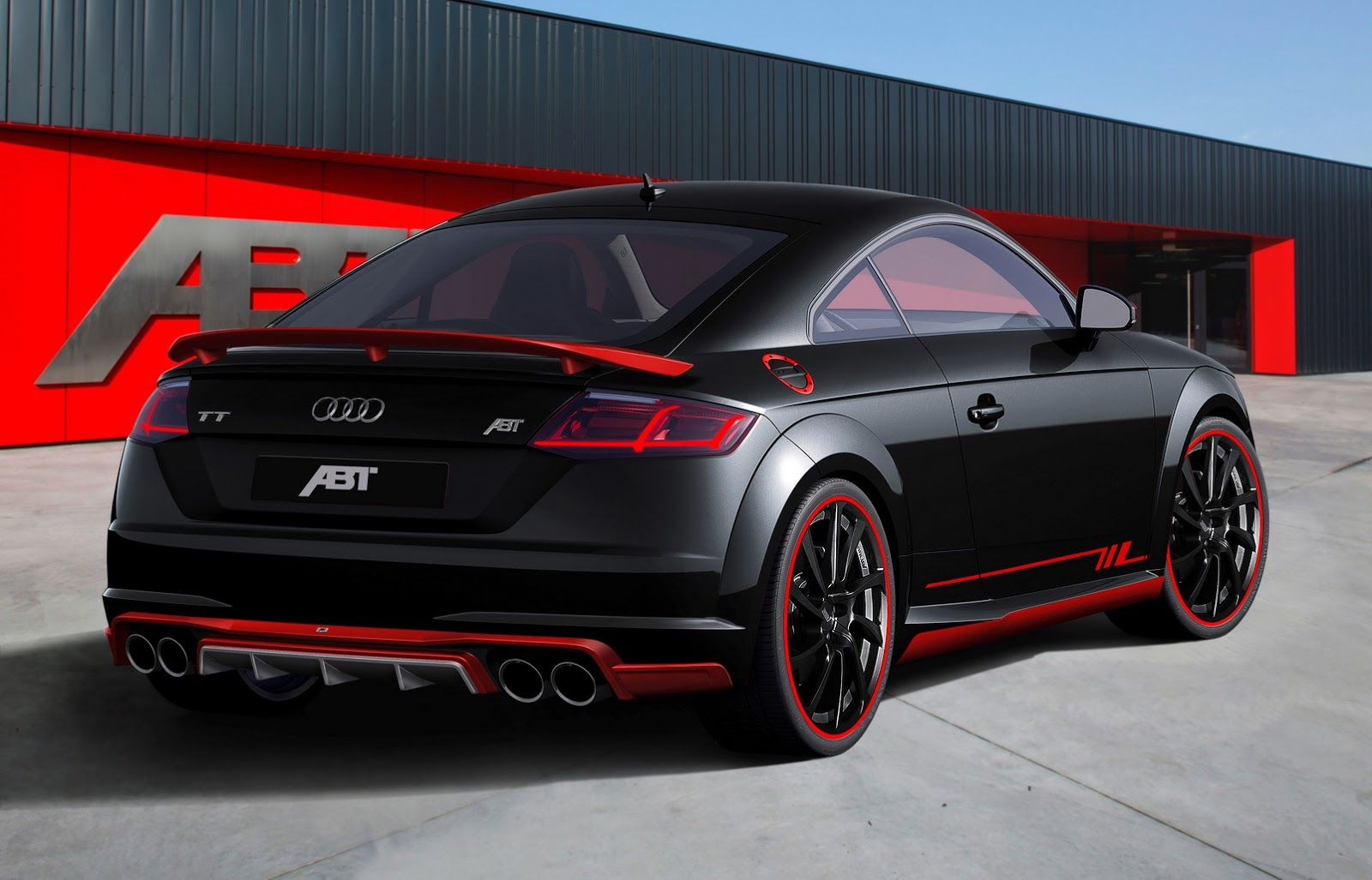 New audi tt earns its first abt tuning stripes