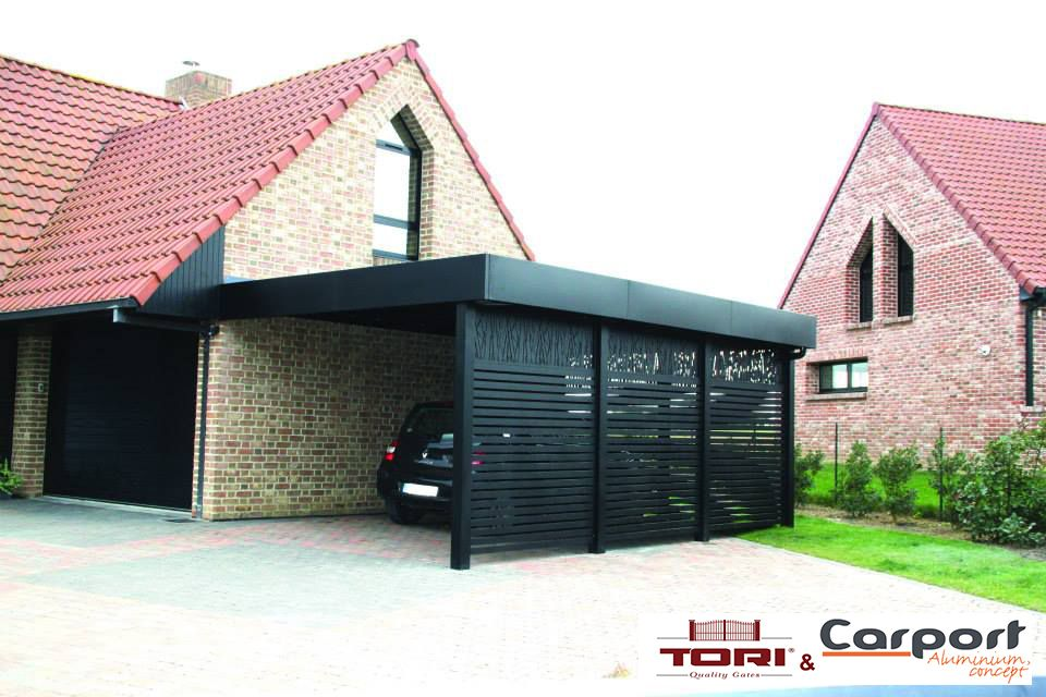 carport aluminium sur mesure terasz pinterest refuges abri voiture et. Black Bedroom Furniture Sets. Home Design Ideas