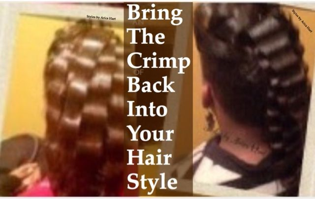 hair styles for black women. Bring the crimp back… | Hair styles ...