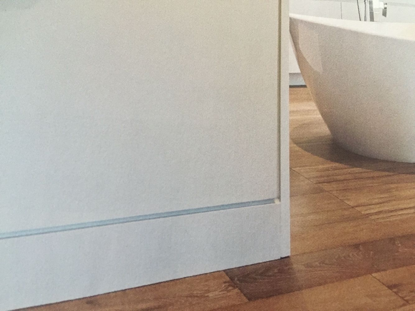 Another Way To Replace A Baseboard Flush With Wall But I