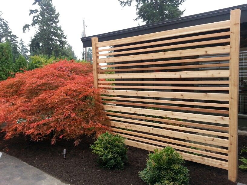 Privacy screen outdoor creations pinterest screens for Wood screen fence