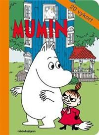 http://www.adlibris.com/fi/product.aspx?isbn=9129689848 | Titel: Mumin - Vykortsbok - 20 vykort - Författare: Tove Jansson - ISBN: 9129689848 - Pris: 5,50