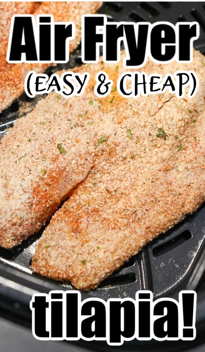 Air Fryer Tilapia in 2020 Recipes, Foodie recipes