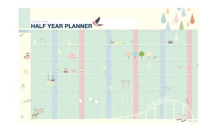 Aliexpress.com : Halbes Jahr Planer Countdown Kalender Täglichen ...