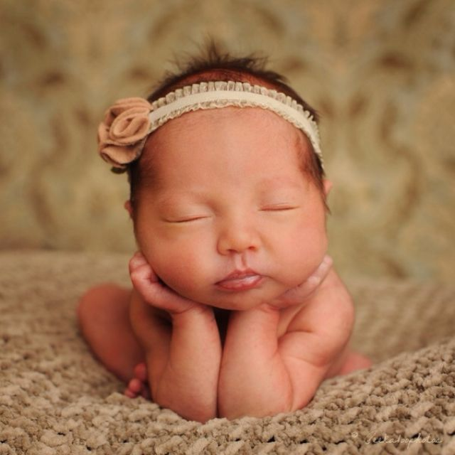 Hair bows and headbands for babies