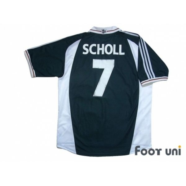 Germany Euro 2000 Away Shirt #7 Scholl | Germany football