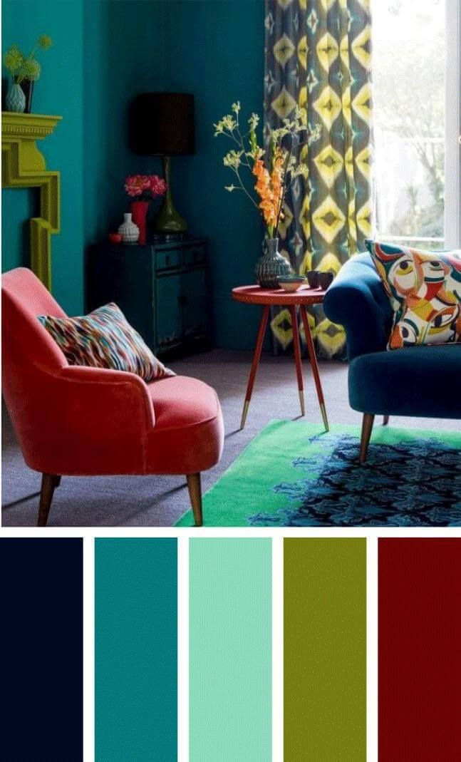 Living Room Colors 2018