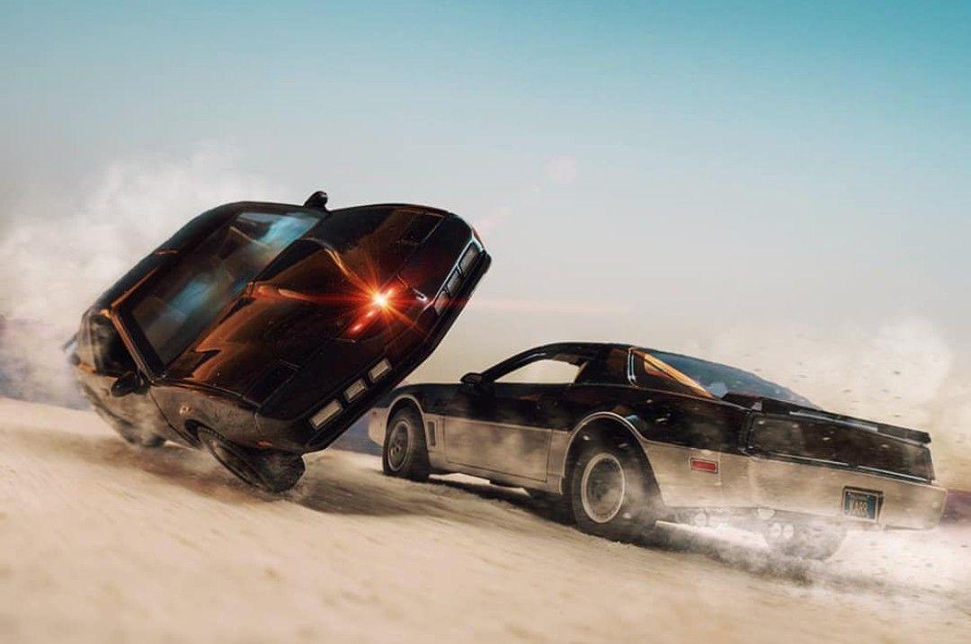 K I T T Vs K A R R Knight Rider Cars Movie Rider