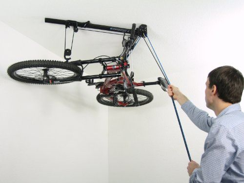 Floaterhoist Ba1 Horizontal Bike Lift Hoist Garage Bicycle