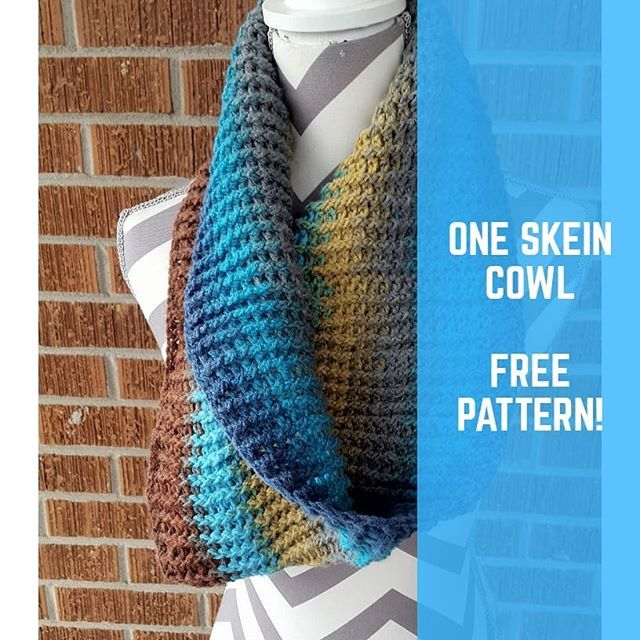The One Skein Cowl A new pattern available on ...