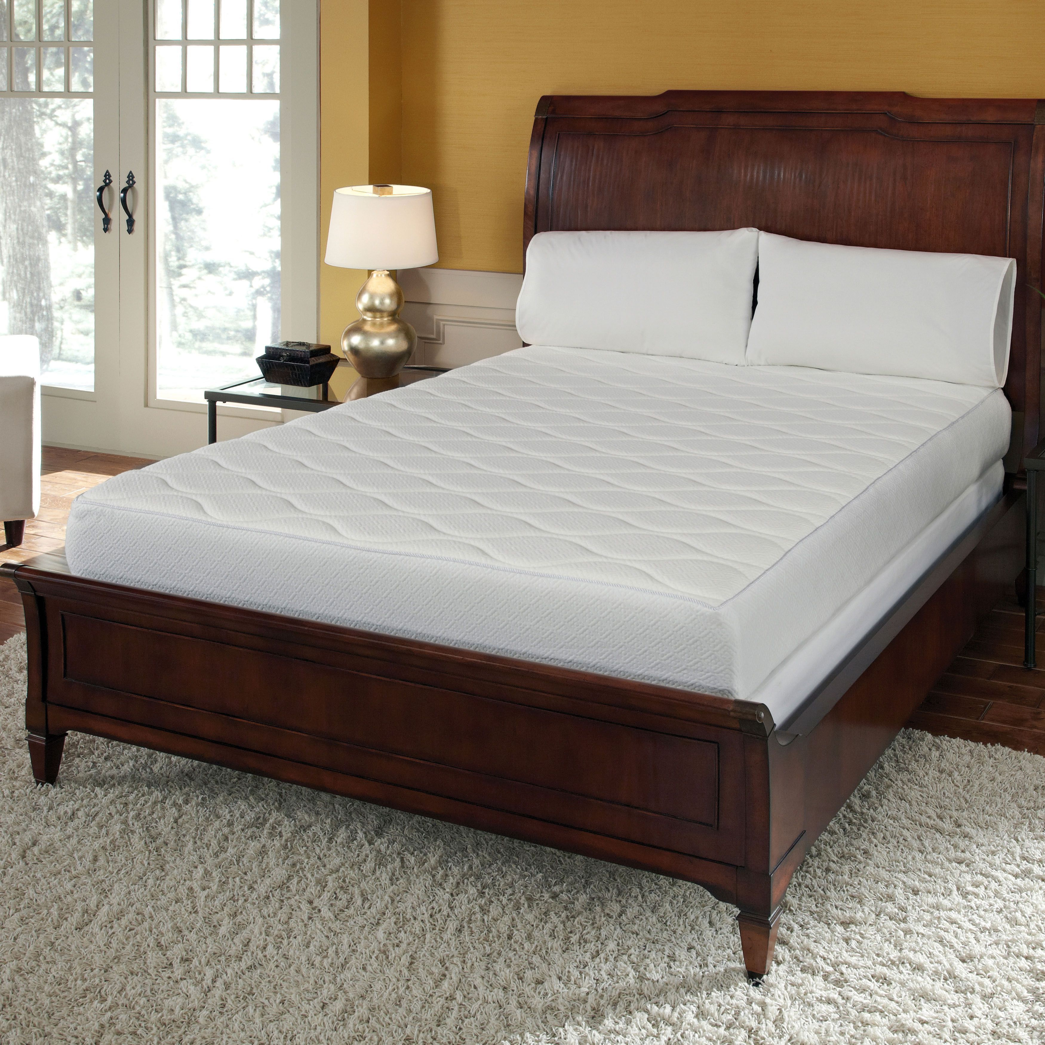 Youre Sure To Get A Good Nights Sleep With This Full Size Quilted Memory Foam Mattress Its High Resistance Temperature Sensitive Thats Resistant