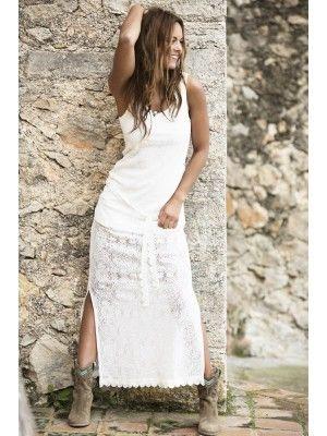 Maxi Jurk Ibiza.Isla Ibiza Maxi Dress Creme Deze Is Echt Heeeeel Mooi Fashion In