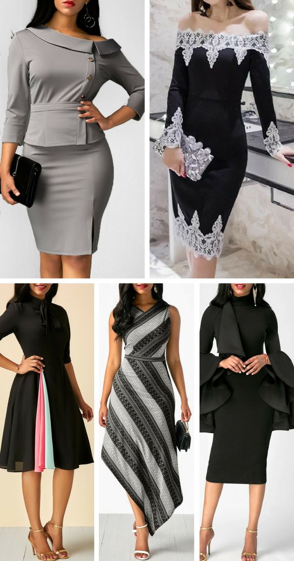 dresses for women my style pinterest robe africaine moderne robe africaine et robe pagne. Black Bedroom Furniture Sets. Home Design Ideas