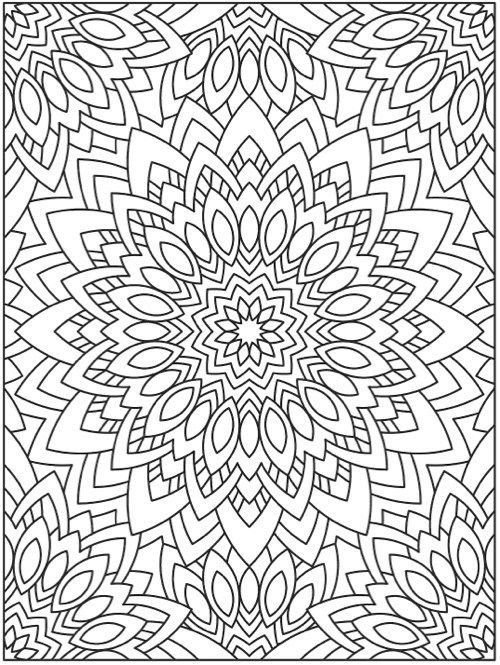Large Mandala Coloring Pages Big Mandala Coloring Pages Abstract Coloring  Pages, Mandala Coloring Pages, Mandala Coloring Books