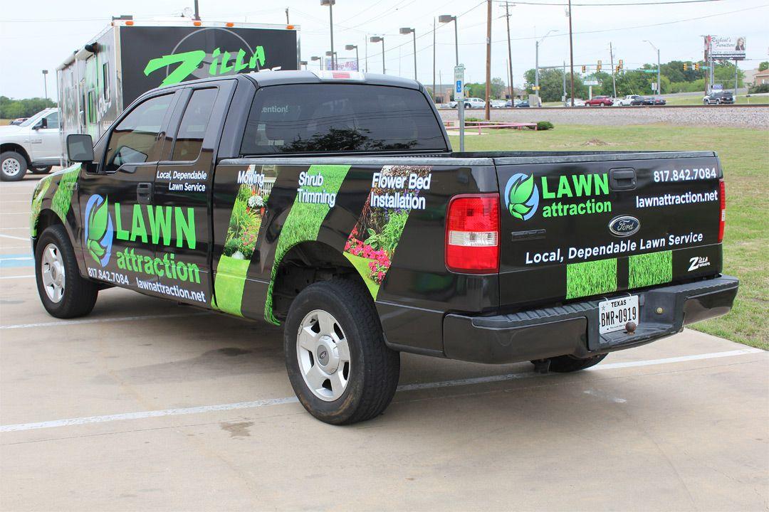 Lawn Care Truck Wrap Lawn service, Trucks, Lawn care