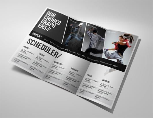 A Fresh Dose - 20 Catchy Brochure Designs To Inspire You ...
