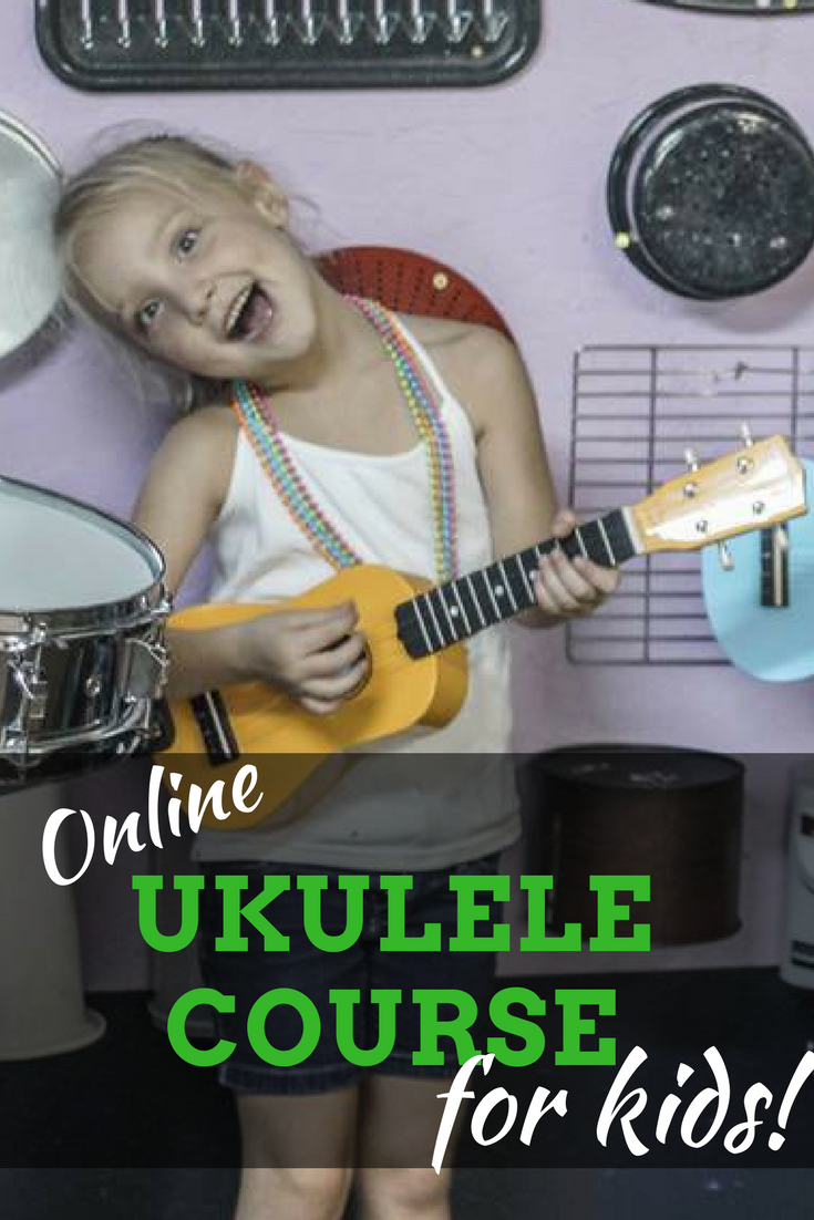 Beginner online ukulele course for kids! You'll learn all ...