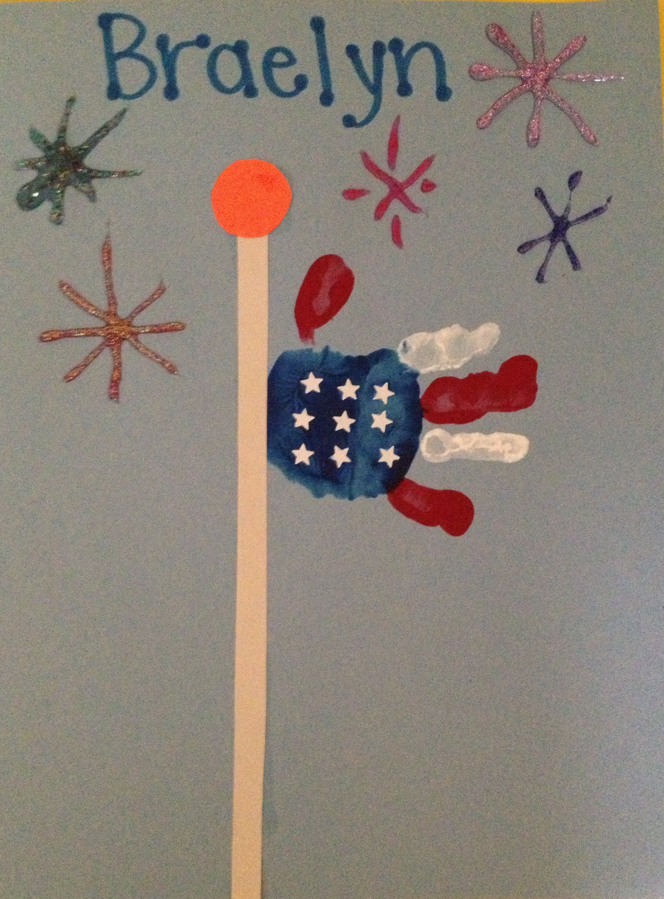 Fourth Of July Art Projects For Two Year Olds