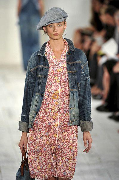 Photo of Ralph Lauren på New York Fashion Week våren 2010